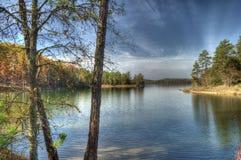 Richard B Russel Lake, Carolina del Sud Fotografie Stock Libere da Diritti