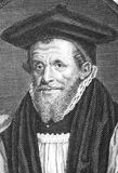 Richard Bancroft. (1544-1610) on engraving from the 1700s. Archbishop of Canterbury and chief overseer of production of the authorized version of the Bible Royalty Free Stock Image