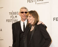 Richard Belzer and Jane Rosenthal Stock Photography