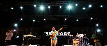 Richard Bona (Cameroon) Stock Images