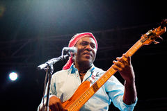 Richard Bona (Cameroon) Royalty Free Stock Photography