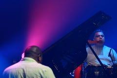 Richard Bona concert in Hungary Stock Images