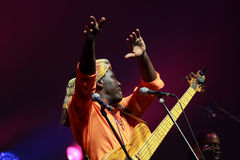 Richard Bona concert in Hungary Stock Photo