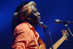 Richard Bona concert in Hungary Royalty Free Stock Images