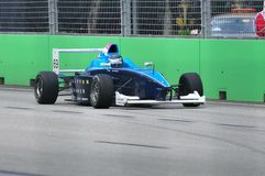 Richard Bradley at Formula BMW Pacific race Royalty Free Stock Images