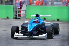 Richard Bradley at Formula BMW Pacific race Stock Photo