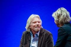 Richard Branson, ιδρυτής και Πρόεδρος της ομάδας της Virgin Στοκ φωτογραφίες με δικαίωμα ελεύθερης χρήσης