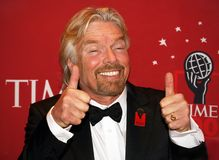 Richard Branson royalty-vrije stock foto