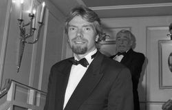 Richard Branson Immagini Stock Libere da Diritti