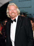 Richard Branson. English business magnate Richard Branson arrives on the red carpet for Time Magazine's 100 Most Influential People gala in New York City on May royalty free stock images