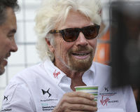 Richard Branson Stockfotos