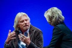 Richard Branson, Gründer und Präsident der Jungfrau-Gruppe Lizenzfreie Stockfotos