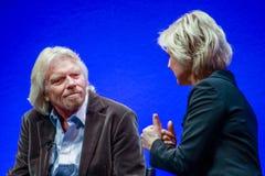 Richard Branson grundare och president av den jungfruliga gruppen Arkivfoto