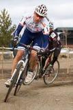 Richard Feldman  - Masters Cyclocross Racer Royalty Free Stock Photos