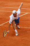 Richard Gasquet de France em Roland Garros Fotos de Stock Royalty Free