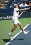 Richard Gasquet Forehand at the 2008 US Open Royalty Free Stock Image