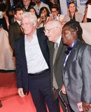 Richard Gere  and Homer George Gere at `Three Christs` premiere at TIFF17. Richard Gere and his 95 year old father attends the `Three Christs` premiere during Royalty Free Stock Image