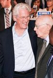 Richard Gere  and Homer George Gere at `Three Christs` premiere at TIFF17. Richard Gere L and Homer George Gere at `Three Christs` film premiere at Roy Thomson Stock Photos