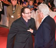 Richard Gere and Stephen Root at `Three Christs` premiere at TIFF17. Richard Gere and Stephen Root at the `Three Christs` premiere during the 2017 Toronto Royalty Free Stock Photography