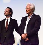 Richard Gerencia e Walton Goggins da premier do ` de Christs do ` três para o festival de cinema internacional 2017 de Toronto foto de stock
