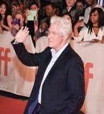 Richard Gerencia na premier do ` de Christs do ` três em TIFF17 imagens de stock royalty free