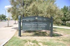 Richard Greene Linear Park, Arlington, Texas fotos de stock royalty free