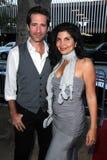 Richard Gunn, Jenna Mattison alla première mondiale di   Immagine Stock Libera da Diritti