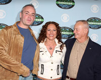Richard Hatch,Rudy Boesch,Jerri Manthey Royalty Free Stock Images