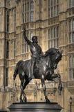 Richard het Standbeeld Lionheart stock afbeelding