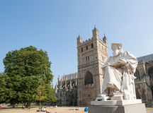 Richard Hooker statue. Royalty Free Stock Photography