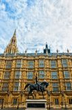 Richard I statue outside Palace of Westminster, London Royalty Free Stock Image
