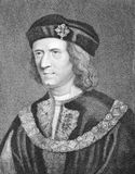 Richard III. (1452-1485) on engraving from the 1800s Stock Image