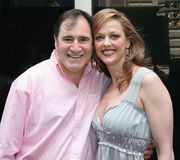 Richard Kind and Angie Schworer Stock Photos