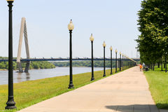 Richard L. Berkley Riverfront Park Stock Image