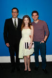 Richard LaGravenese, Anna Kendrick, Jeremy Jordan Royalty Free Stock Photos