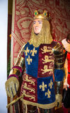 Richard Lionheart, King of England at Madame Tussauds Wax Museum. London Stock Photography