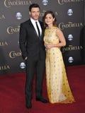 Richard Madden & Jenna Coleman fotografia de stock royalty free