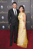 Richard Madden & Jenna Coleman royalty-vrije stock foto's