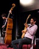 Richard Manetti et Joan Eche-Puig au jazz de l'Ombrie Image stock