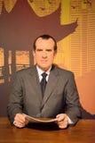 Richard Nixon Wax Figure Lizenzfreie Stockbilder