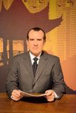Richard Nixon Wax Figure. Richard Milhous Nixon was the 37th President of the United States, serving from 1969 to 1974. Richard Nixon wax figure is located in Royalty Free Stock Images