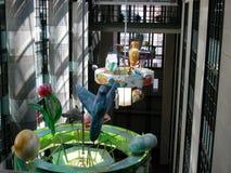 Richard Riordan biblioteki publicznej wnętrze, w centrum los angeles zdjęcia royalty free