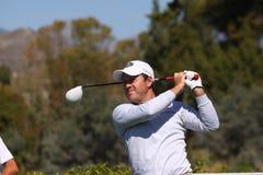 Richard Sterne au golf d'Andalousie ouvert, Marbella Photos libres de droits