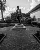 Richard Theodore Greener Monument Outside tunnbindaren Library Arkivbild