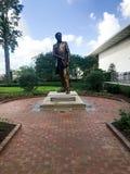 Richard Theodore Greener Monument Outside tunnbindaren Library Fotografering för Bildbyråer