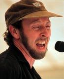 Richard Thompson. Performs at the Bridgeton Folk Festival in 1993 Stock Images