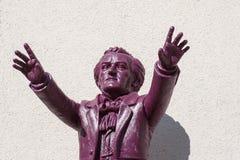 Richard Wagner conduce Bayreuth Imágenes de archivo libres de regalías