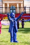 Richard Wagner conduce Bayreuth Imagen de archivo libre de regalías