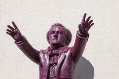 Richard Wagner conducts Bayreuth Royalty Free Stock Images