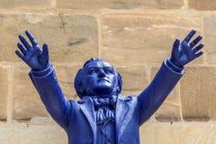 Richard Wagner leitet Bayreuth Lizenzfreies Stockfoto